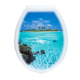 Tualetes poda vāks Karo-plast 46x37x4cm, zils