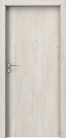 Полотно межкомнатной двери Porta line H1, дубовый, 203 см x 84.4 см x 4 см