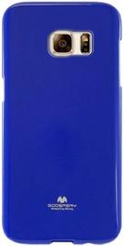 Mercury Jelly Back Case For Samsung Galaxy A7 A700 Dark Blue