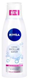 Kosmētikas noņemšanas līdzeklis Nivea Micellar Water Dry Skin, 400 ml