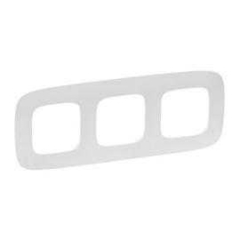 Legrand Allure Three Way Frame 754303 White