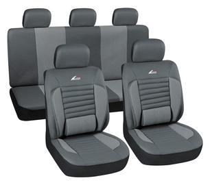 Autoserio Seat Cover Set AG-28822/4 8pcs Gray