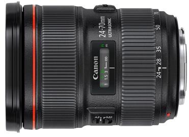 Objektīvs Canon EF 24-70/2.8L II USM, 805 g