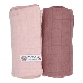 Lodger Swaddler Solid Sensitive/Plush 120x120 2pcs