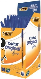 Bic Cristal Original Fine Ball Pen 0.3mm Blue 50pcs