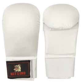 Matsuru Karate Gloves M White