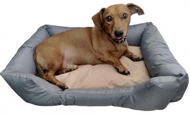 Dzīvnieku gulta Vangaloo, pelēka/bēša, 620x480 mm