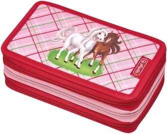Herlitz 3 Piece Pencil Case Horses/50008520