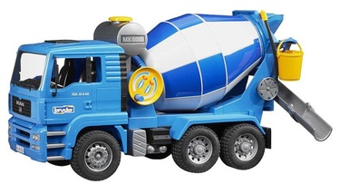 Bērnu rotaļu mašīnīte Bruder, zila/balta