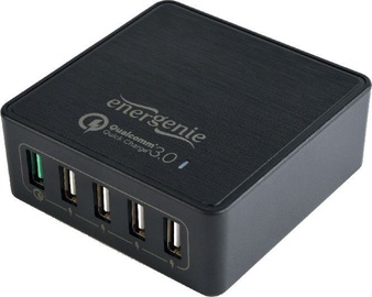 Gembird 5-port USB Quick Charger 3.0 EG-UQC3-02