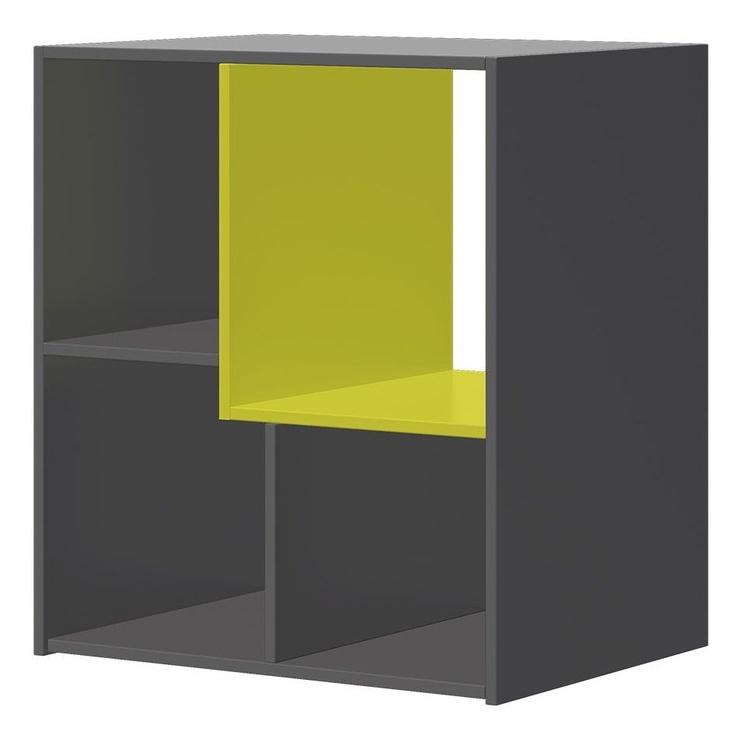 Szynaka Meble Wow 08 Shelf Graphite/Green