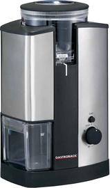 Kafijas dzirnaviņas Gastroback Design Advanced 42602, sudraba/melna