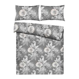 Комплект постельного белья Domoletti HAR/7118, многоцветный, 200x220