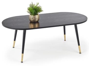 Kafijas galdiņš Halmar Embosa, zelta, 1200x600x470 mm