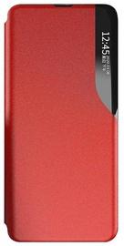 Futrālis Mocco Smart Flip Cover Case Samsung Galaxy A12, sarkana