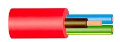 KABELIS OWY/H05VV-F 5X4 MM² BALT (100)