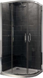 Huppe X1 Shower Corner 800x1900x800mm Silver/Transparent