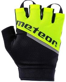 Cimdi Meteor, melna/dzeltena, XL