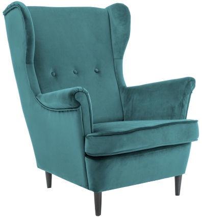 Atzveltnes krēsls Signal Meble Lord Velvet Turquoise, 72x85x101 cm