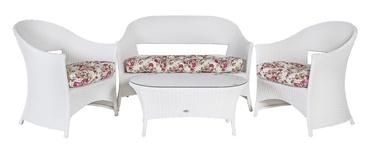 Home4you Whistler Garden Furniture Set White