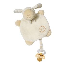 BabyFehn Cuddlefriend With Pacifier Holder Sheep 154443