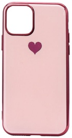Fusion Heart Back Case For Apple iPhone 11 Pro Pink