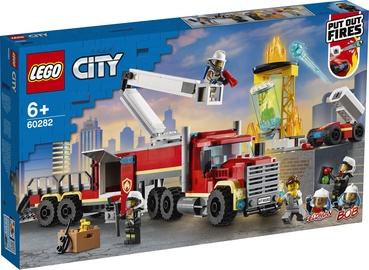 Constructor LEGO City Fire Command Unit 60282