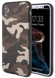 Mocco Army Ultra Back Case For Huawei P10 Lite Army Brown