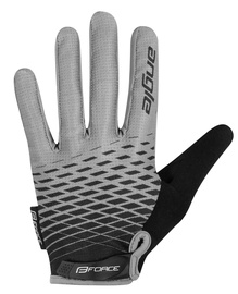 Force MTB Angle Gloves Gray/Black XL