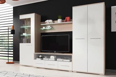 Комплект мебели для гостиной Idzczak Meble Frida, белый/дубовый