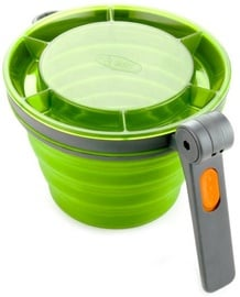 GSI Outdoors Collapsible Fairshare Mug Green