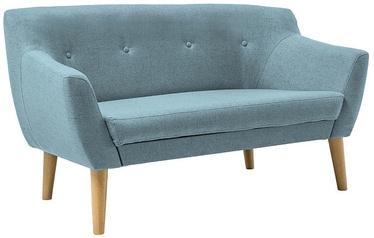 Dīvāns Signal Meble Bergen 2 Light blue, 139 x 54 x 76 cm