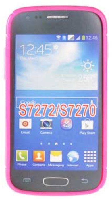 Telone Back Case S-Case for Samsung S7272 S7275 Galaxy Ace 3 Pink
