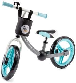 Балансирующий велосипед KinderKraft 2Way Next With Basket Turquoise