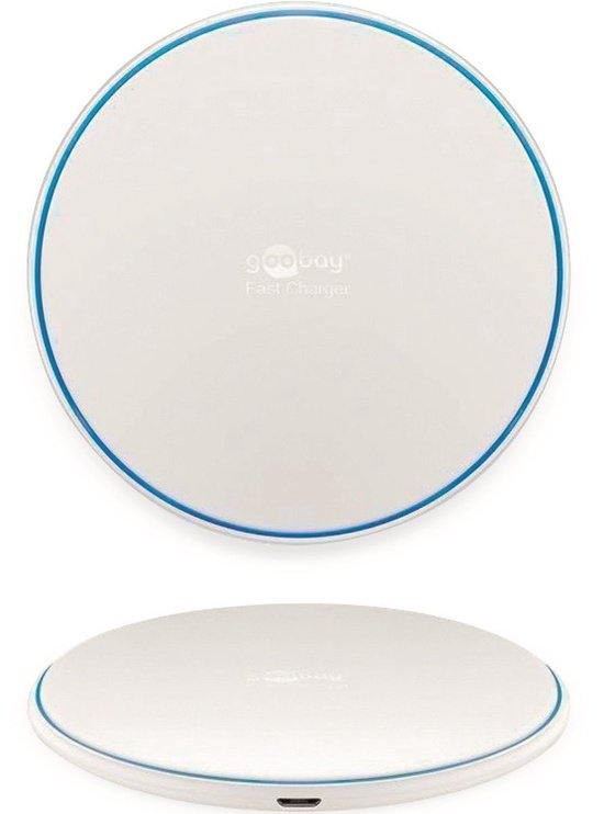 Goobay Fast Wireless Charger 10W White 45654