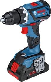 Bosch GSR 18V-60 C Cordless Drill L-BOXX 18V 2xProCORE4.0Ah