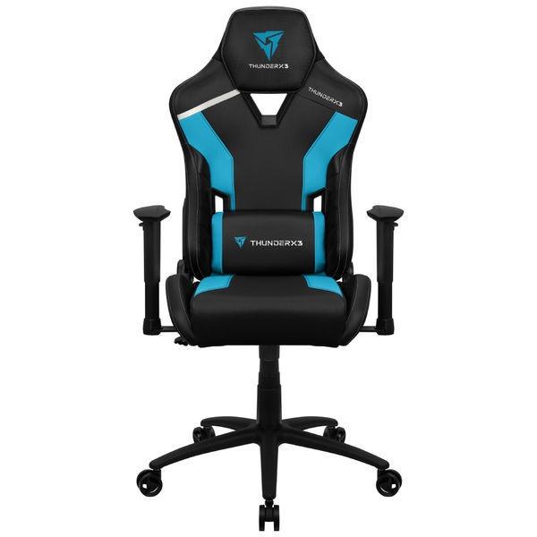 Spēļu krēsls Thunder X3 TC3 Azure Blue