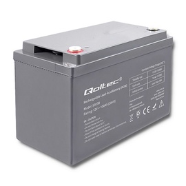 Qoltec AGM Battery 12V 100Ah Max 1200A