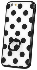 Mocco Ring Dots Back Case For Samsung Galaxy S6 Black/White