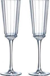 Šampanieša glāze Cristal dArques Macassar, 0.17 l, 2 gab.