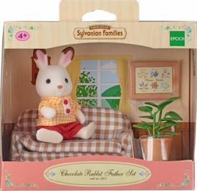 Фигурка-игрушка Epoch Sylvanian Families Chocolate Rabbit Father Set 2201