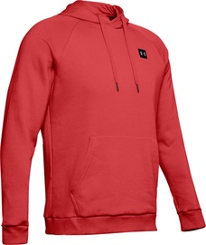 Under Armour Mens Rival Fleece Hoodie 1320736-646 Red L