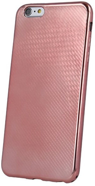 Mocco Carbon Premium Series Back Case For Samsung Samsung Galaxy S8 Plus Rose