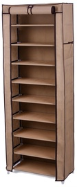 Apavu plaukts Songmics Brown, 580x280x1600 mm