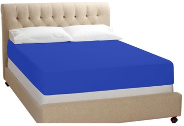 Bradley Bed Sheet Dark Blue 240x260cm