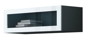 Cama Meble Vigo 90 Cabinet Glass Grey/White Gloss