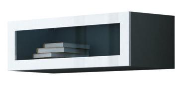 Cama Meble Vigo 90 Cabinet Glass Grey/White Gloss