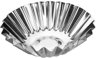 Форма для выпечки Galicja Platino, 70 мм, серебристый, 6 шт.
