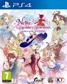 Игра для PlayStation 4 (PS4) Nelke & the Legendary Alchemists: Ateliers of the New World PS4