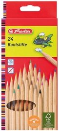 Herlitz Natural Coloured Pencils 24-Pieces 08660524